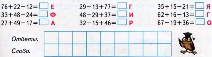 Зашифрованное название школьного предмета