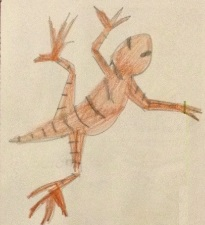Серый геккон