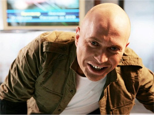 Сергей Дружко улыбается
