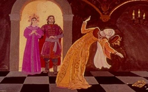 Сказка о мёртвой царевне 34