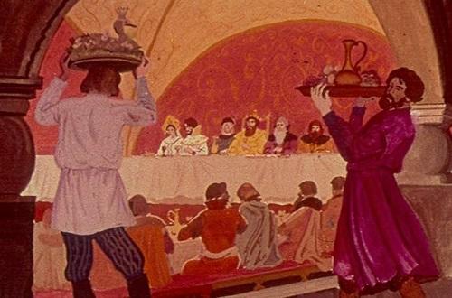 Сказка о мёртвой царевне 35