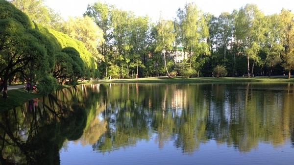 Охрана природного сообщества водоёма