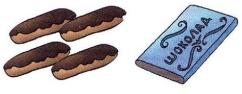 Пирожные и шоколад