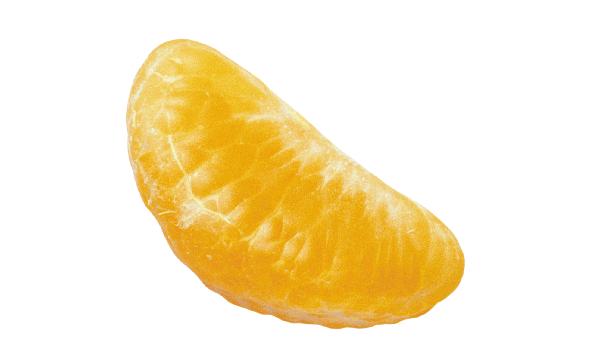 Кусочек мандарина