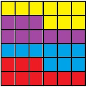 Разрезанный квадрат