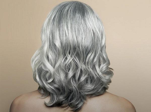 Цвет волос бабушки и дедушки