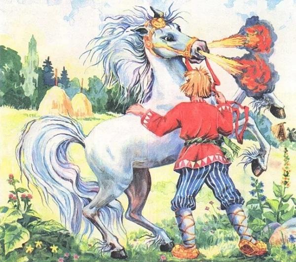 Вторая часть имени сказочного коня Сивки