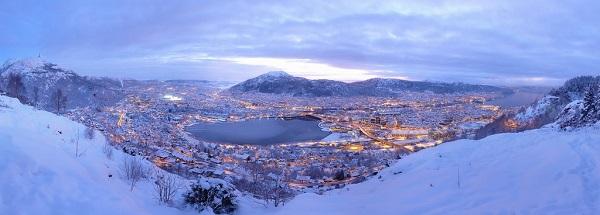 Зима в Бергене