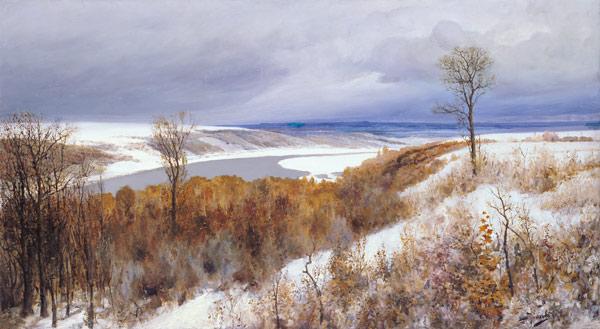 Поленов - Ранний снег