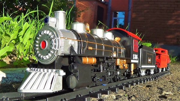Вася построил железную дорогу