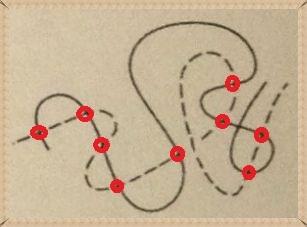 Пересечение двух линий
