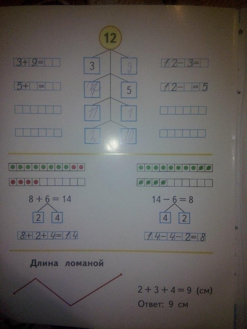 ГДЗ 2 класс Моро решебник 1 часть