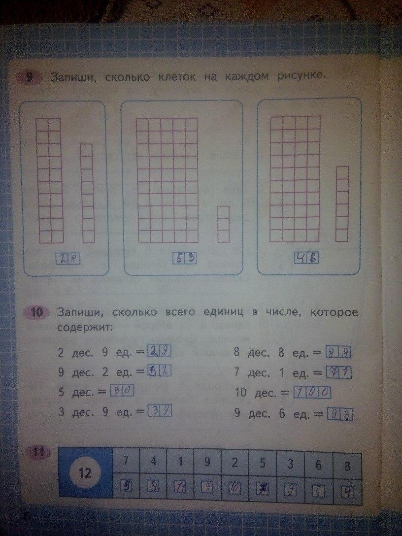 ГДЗ математика Моро 1 ч 2 класс