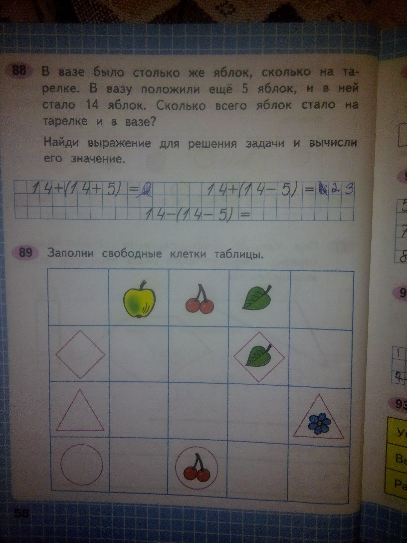 ГДЗ математика 2 класс Моро рабочая тетрадь