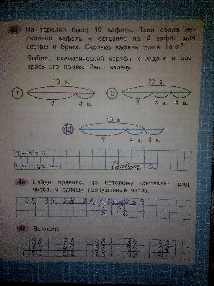 ГДЗ по математике 2 класс Моро стр