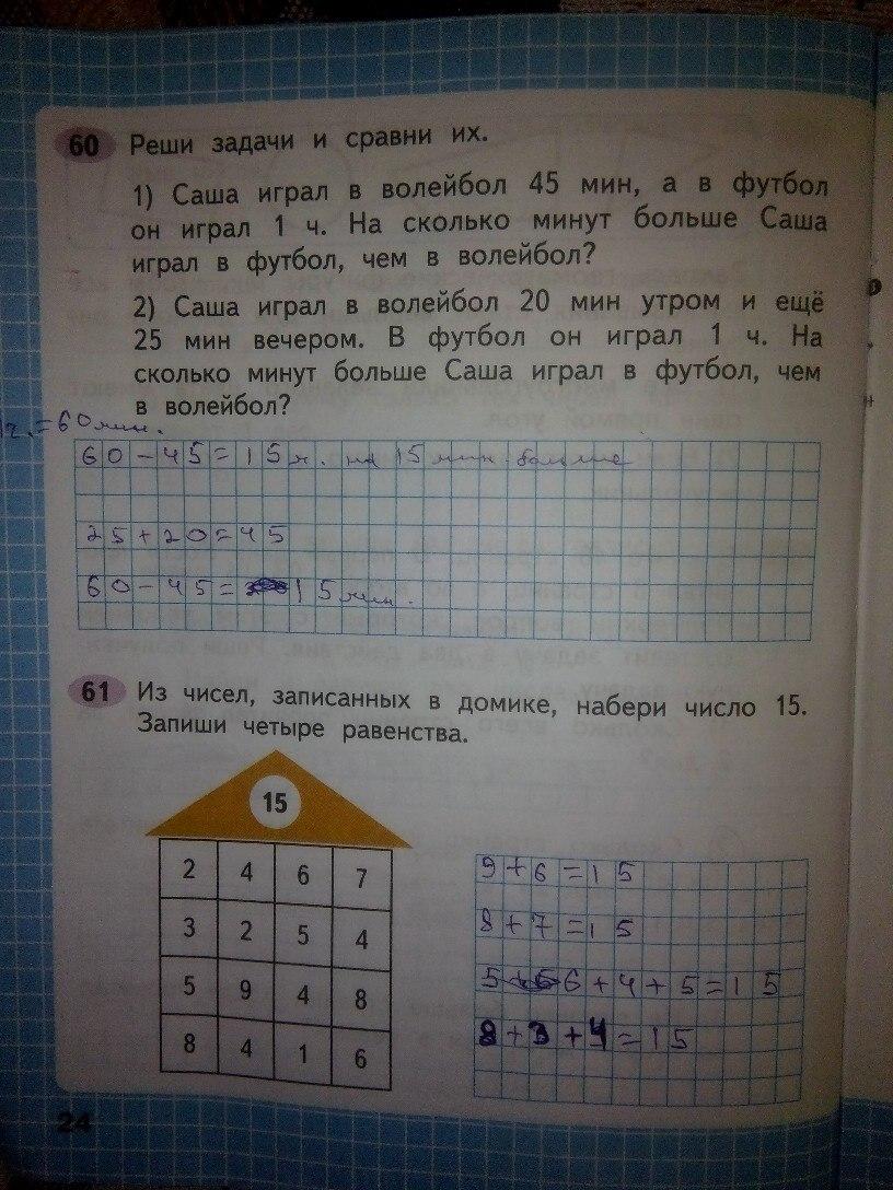 ГДЗ 2 класс математика Моро онлайн