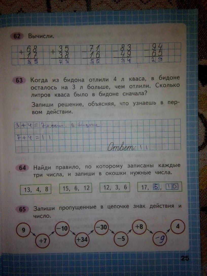 Математика 2 класс ГДЗ Моро и др