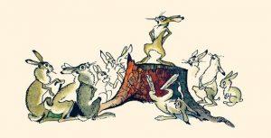 Сказка про храброго зайца длинные уши косые