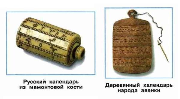 Старинные календари народов России