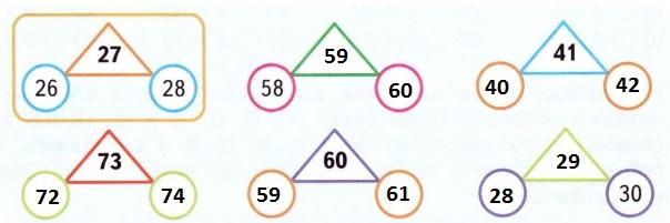 Связь чисел по образцу (решене)