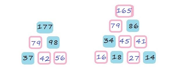 Числовые пирамиды - 4 класс - ответ