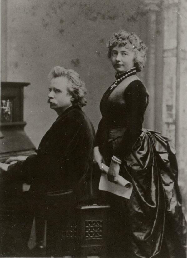 Эдвард и Нина Григ