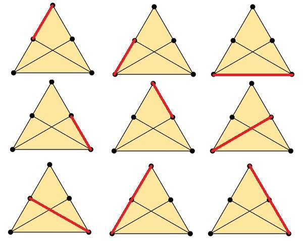 Отрезки в треугольнике