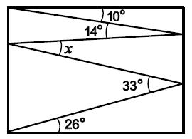 Ломаная линия внутри прямоугольника