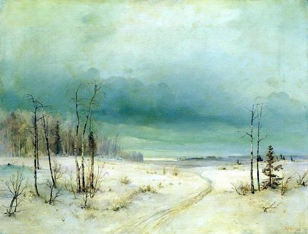 А. Саврасов - Зима