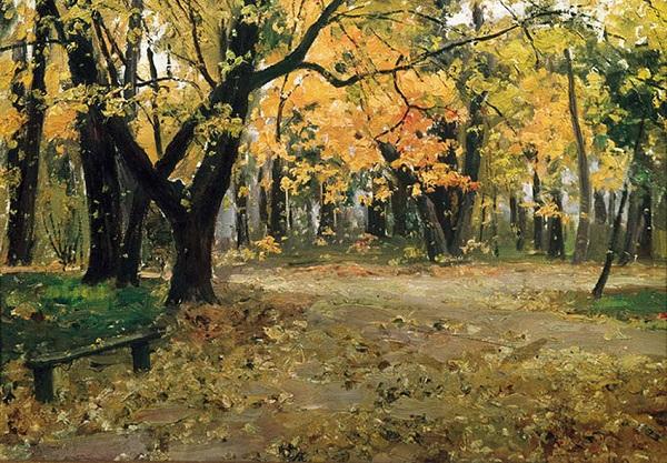 И. Остроухов - Парк