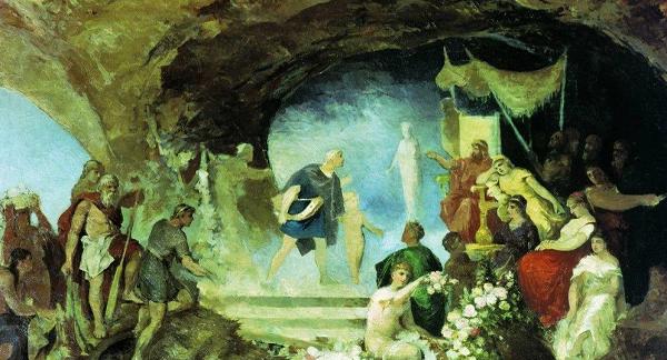 Орфей в подземном мире — Генрих Семирадский