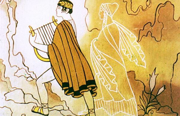 Орфей и Эвридика возвращаются