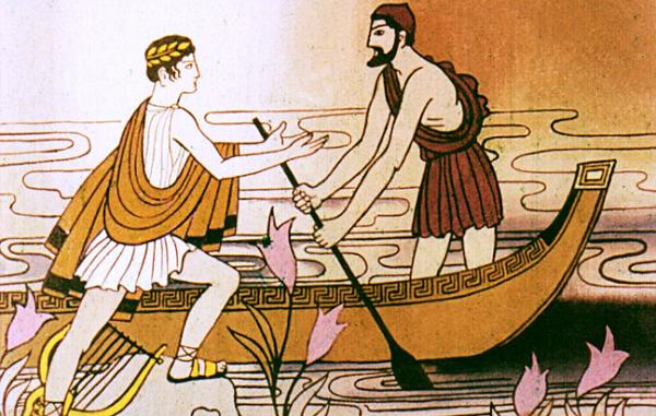 Орфей просит его перевезти