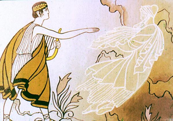 Отлетела тень Эвридики