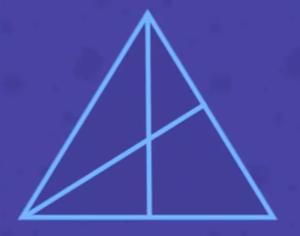 Поделенный треугольник