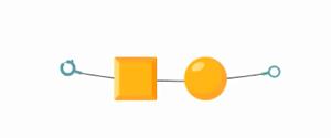 Признак по которому отличаются желтые бусины