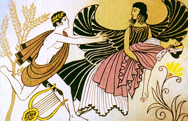 Смерть уносила Эвридику