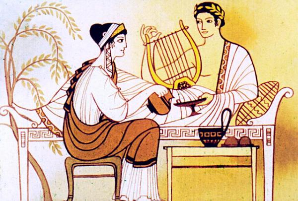 Эвридика полюбила Орфея