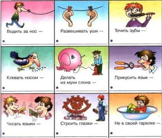Переносные значения слов