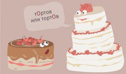 ТОрты или тортЫ