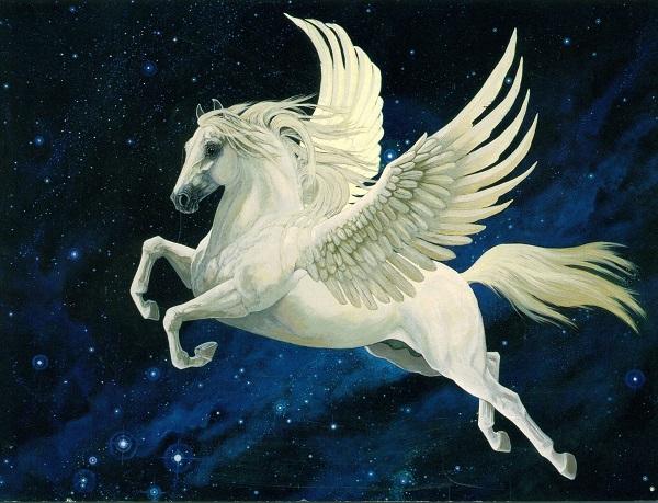 Крылатый конь Пегас