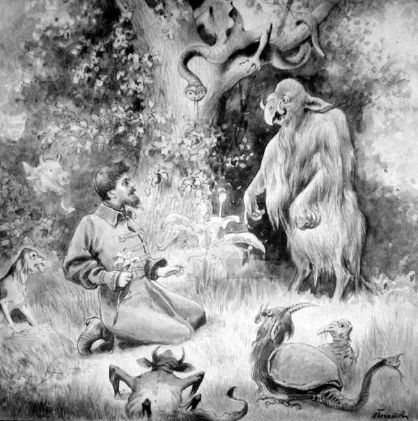 Иллюстрация к сказке Н. Богатова