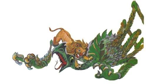 Лев становится царём зверей