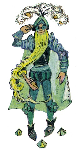 Зеленобородый солдат