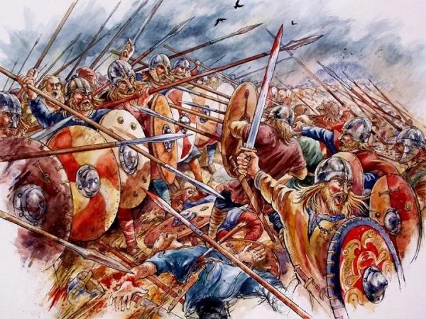 Викинги завоевывают Англию