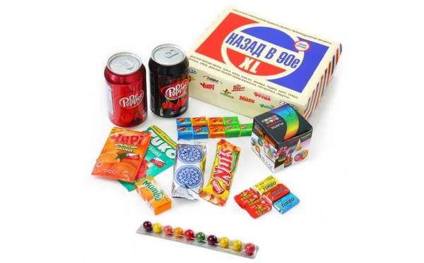 Вкусняшки 90-х