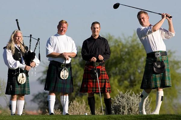 Гольф в Шотландии