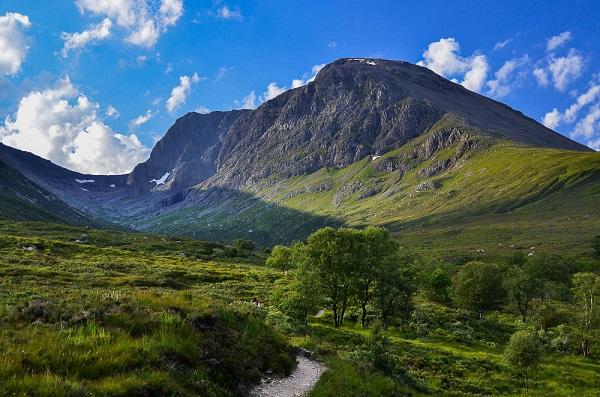 Бен-Невис - самая высокая гора в Великобритании