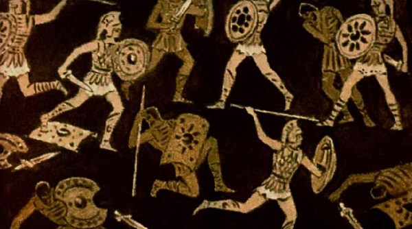 Жестокий бой аргонавтов и долионов