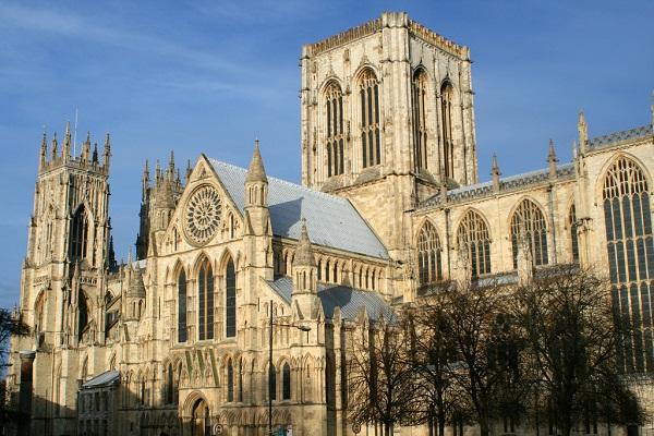 Йоркский Кафедральный собор (главный фасад)